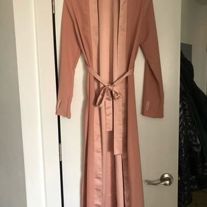 Rose pink duster!